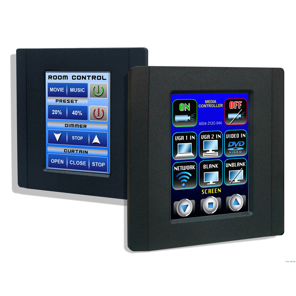 videotechnik touch control panel. Black Bedroom Furniture Sets. Home Design Ideas