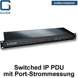 GUDE Switched IP PDUs mit Port-Strommessung