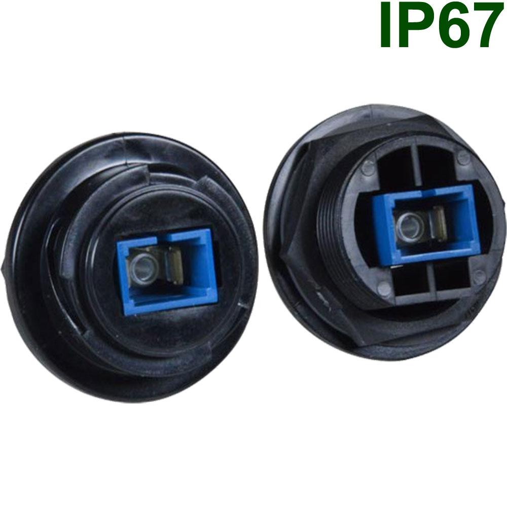 Wasserdichte LWL-Steckverbinder | IP67 LWL Buchsen & Stecker
