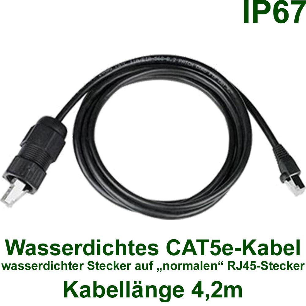 netzwerk kabel wasserdichtes geschirmtes cat5e kabel 4. Black Bedroom Furniture Sets. Home Design Ideas