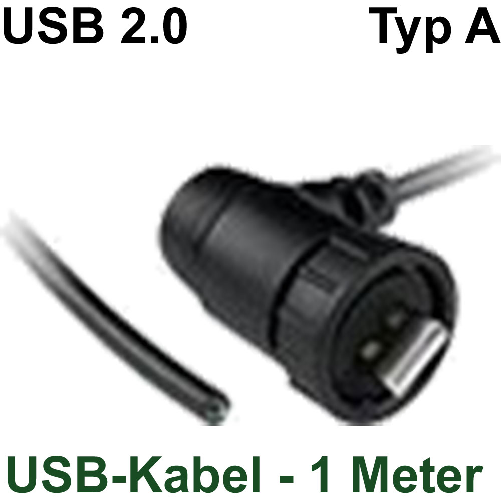 Wasserdichte Kabel, Buchsen und Stecker : Wasserdichter USB-Stecker ...