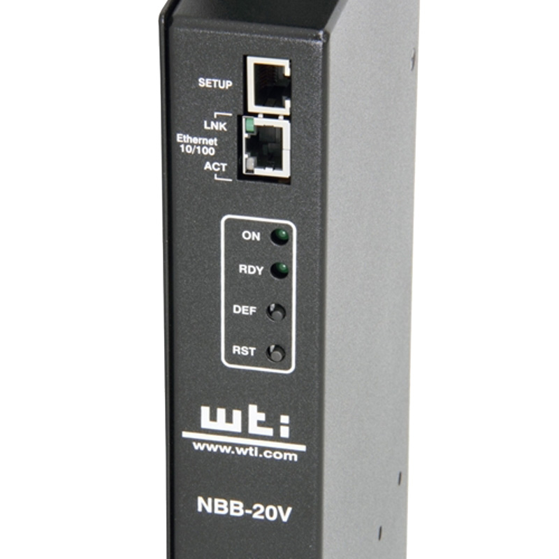 NBB-20VS20-1 Network Boot Bar 20 Amp 100 - 120V - Switched PDU