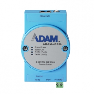 ADVANTECH ADAM-4570L: 2-Port Ethernet RS232 Device Server