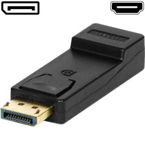 Display Port-Stecker auf HDMI Adapter