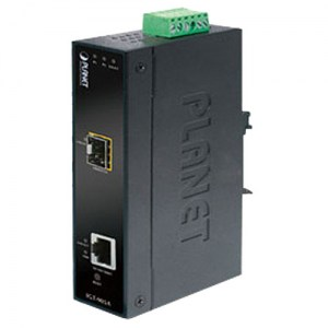 IGT-905A: Industrial Managed Gigabit Ethernet Medienkonverter RJ45 / SFP