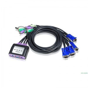 CS64A:  4-Port KVM Switch mit Audiosupport