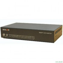 Smart 108/116 KVM Switch  8- / 16-fach KVM Switch mit moderner CAT5-Anschlußtechnik.