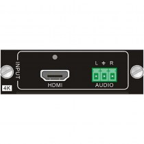 Black Box AVS-HDMI2-4KI: Modular Matrix Switcher Video Input Card HDMI 4K Audio
