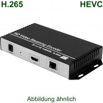 H.265 IP Streaming Encoder für HDMI Quellen - Der Encoder für H.265 HD/SD Live Streams