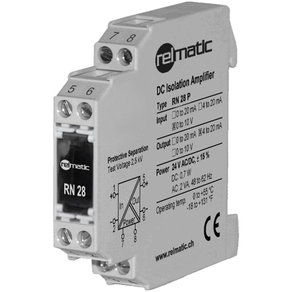 Normsignal-Trennverstärker: RN28 von Relmatic