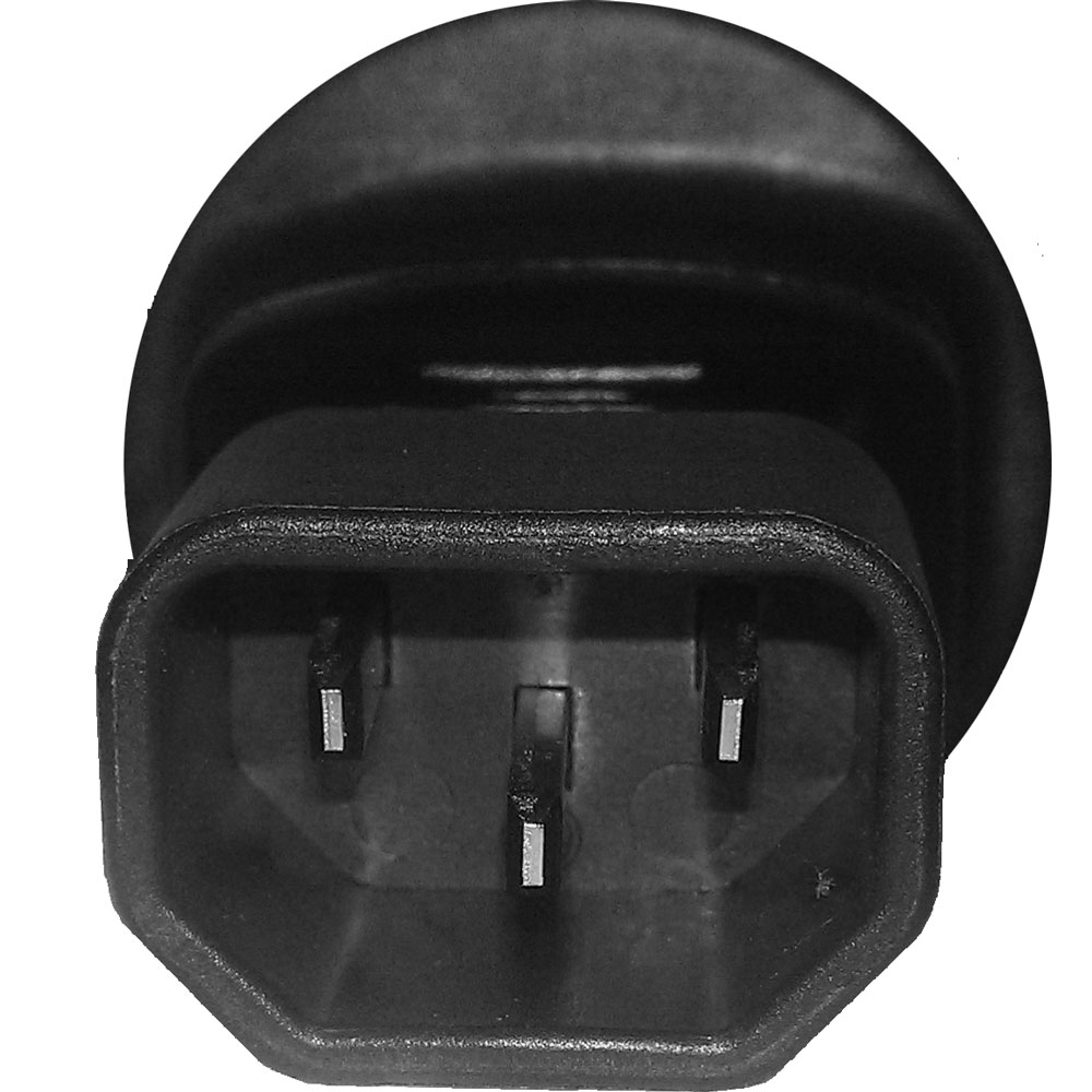 netz adapter c14 stecker zu schutzkontakt kupplung f r usv. Black Bedroom Furniture Sets. Home Design Ideas