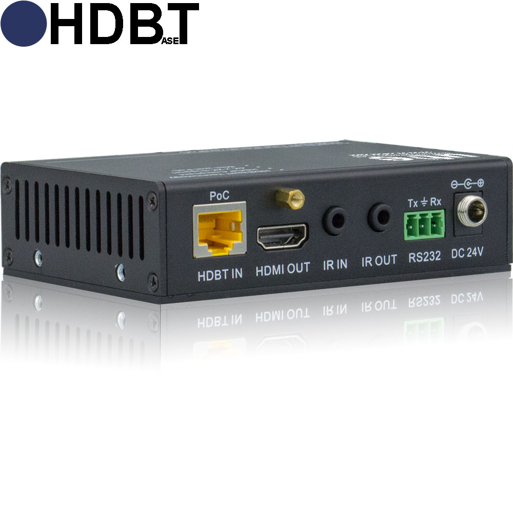 Hd 70xr Ultra Hdbaset Receiver Mit Ir Und Rs 232 High Performance Power Over Ethernet Injector By Legrand Uhd Fr Hdmi Poe