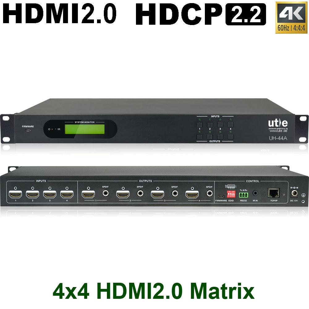 Professionelle Audio/Video - Video Matrix Switches U.T.E.