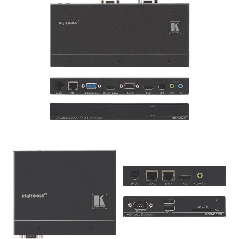 HDMI über IP Extender SET für Unicast- und Multicast-Streaming