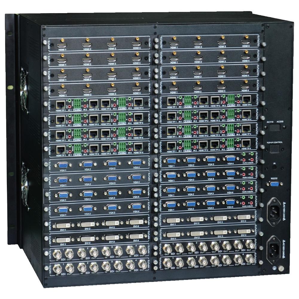 64x64 video matrix switch modulare kreuzschiene mmx6464 beispiel konfiguration des modularen 64x64 hd video matrix switch mmx6464 von ptn ansicht der rckseite publicscrutiny Gallery