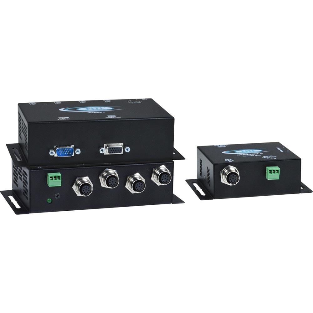 Industrial VGA Splitter über CAT5 | VOPEX® M12 Industrie von NTI