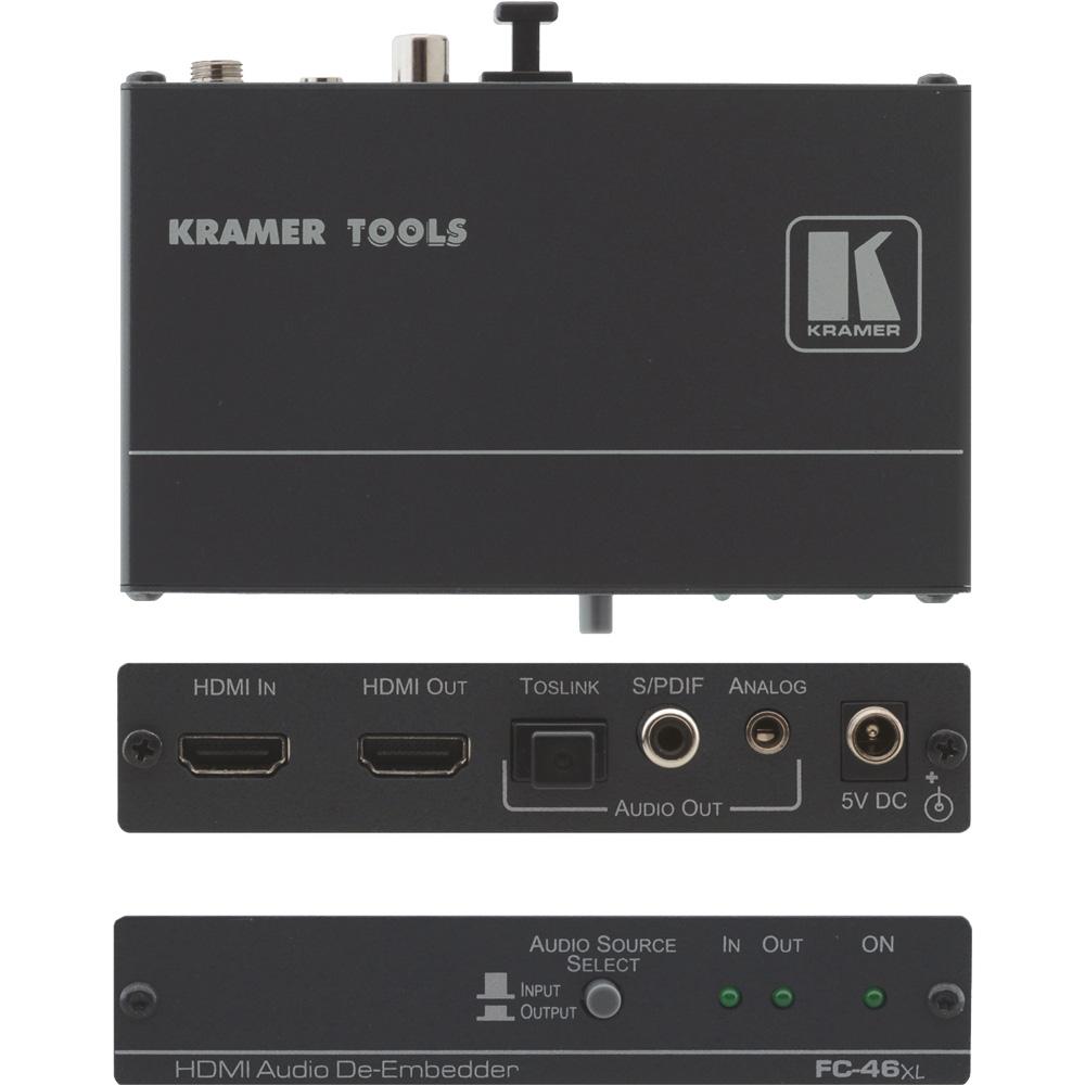 Audio De- und Embedder für SDI, HDMI und DVI